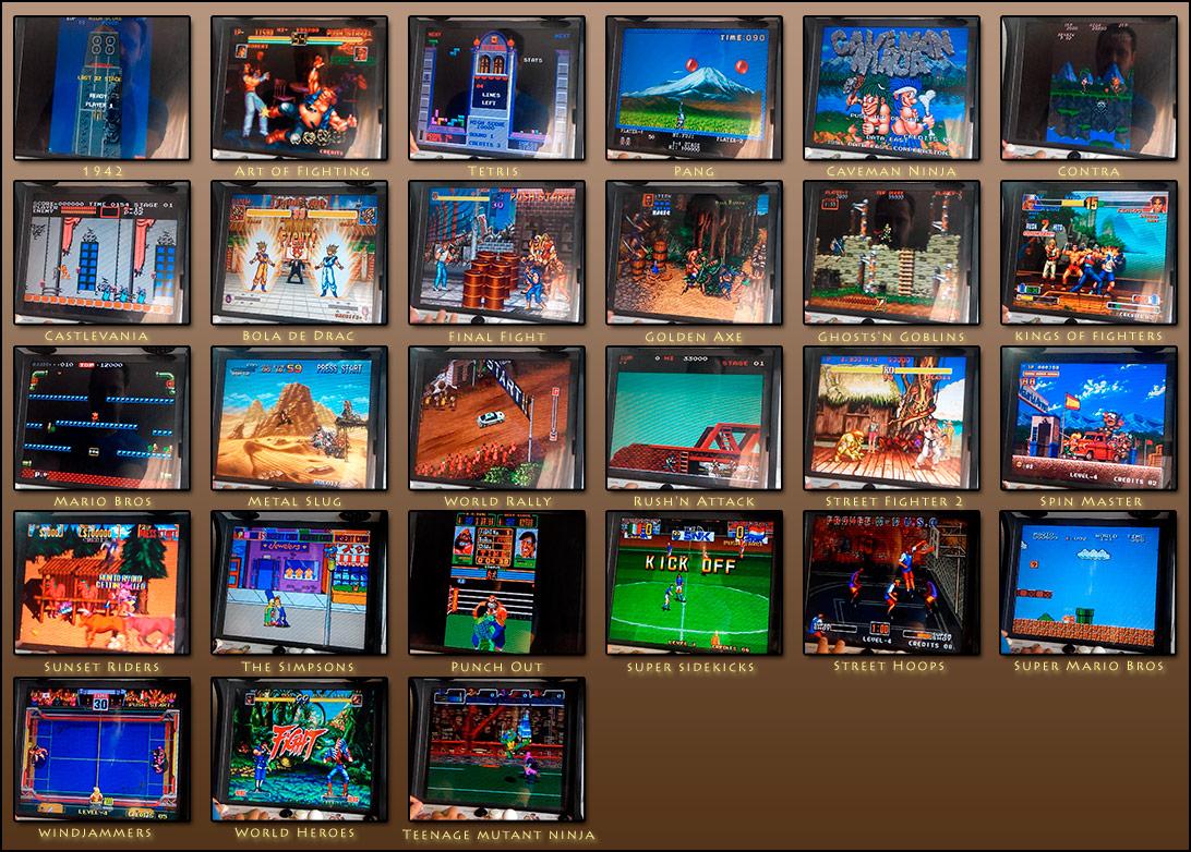 Lista de imagenes de los mejores juegos arcade