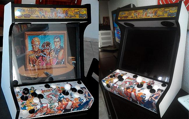 Imagen de la Maquina arcade bartop terminada