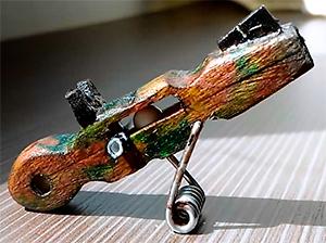 pistola airsoft de pinzas