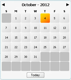 Calendario en flash as3 completamente configurable y con soporte para varios idiomas como catalan,castellano,ingles,aleman,frances,italiano,portugues etc.
