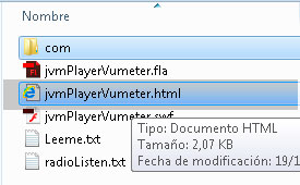 Reproductor player de radio mp3 en flash as3