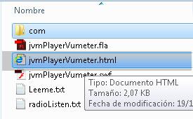Reproductor player de radio mp3 en flash as3