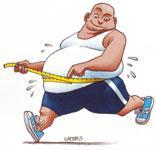 Yo no estoy gordo estoy rellenito..