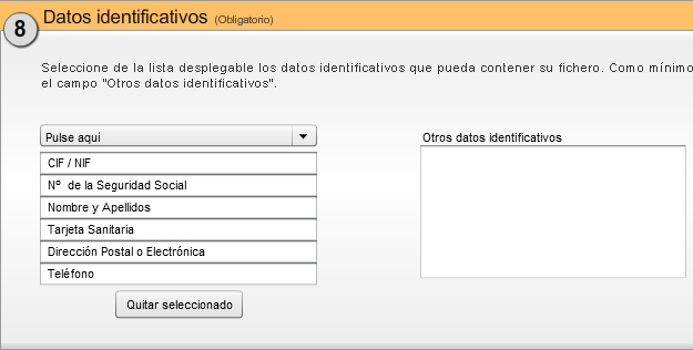 Datos identificativos